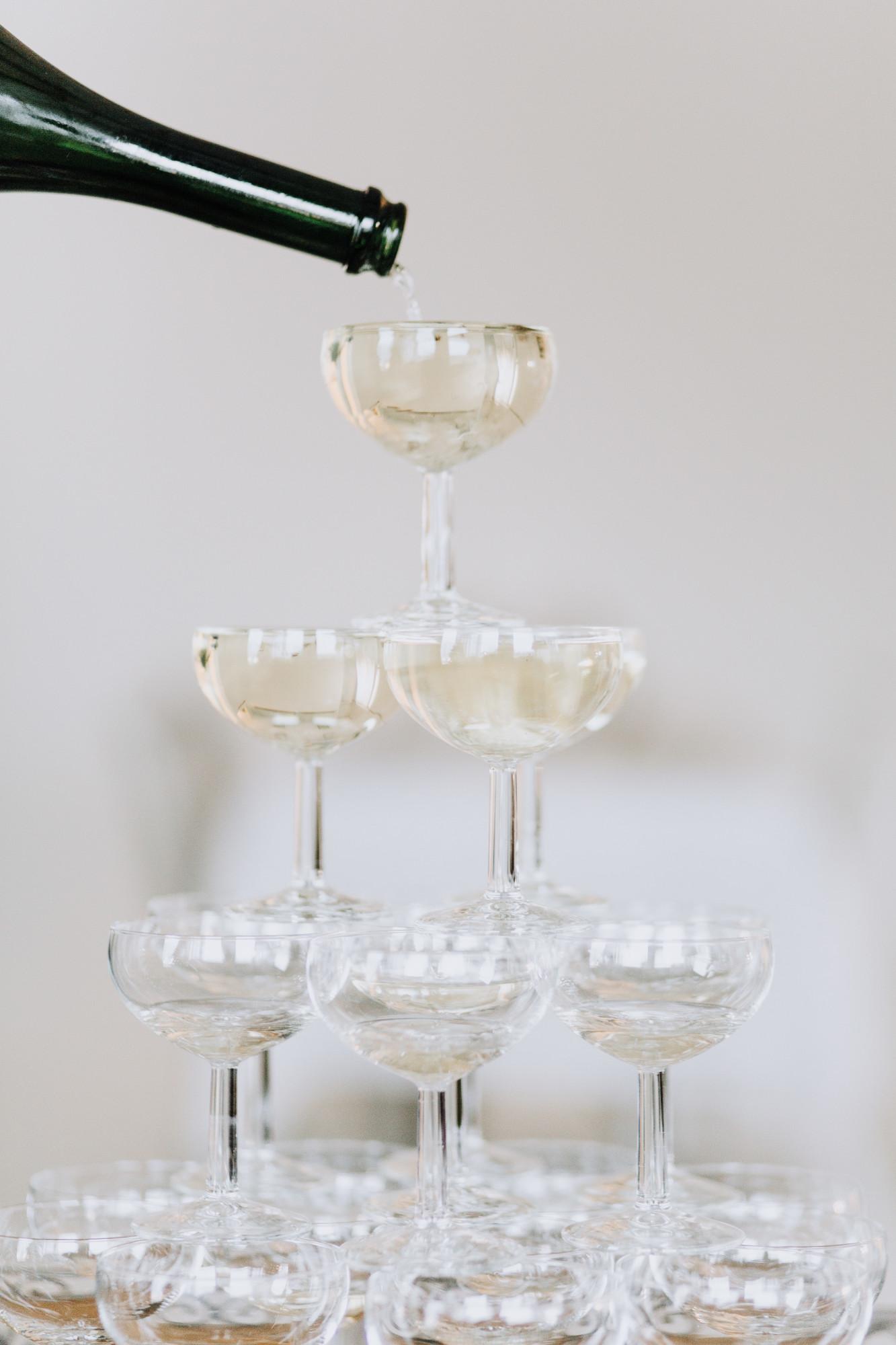 Champagneglas Foto: Matilda Söderström