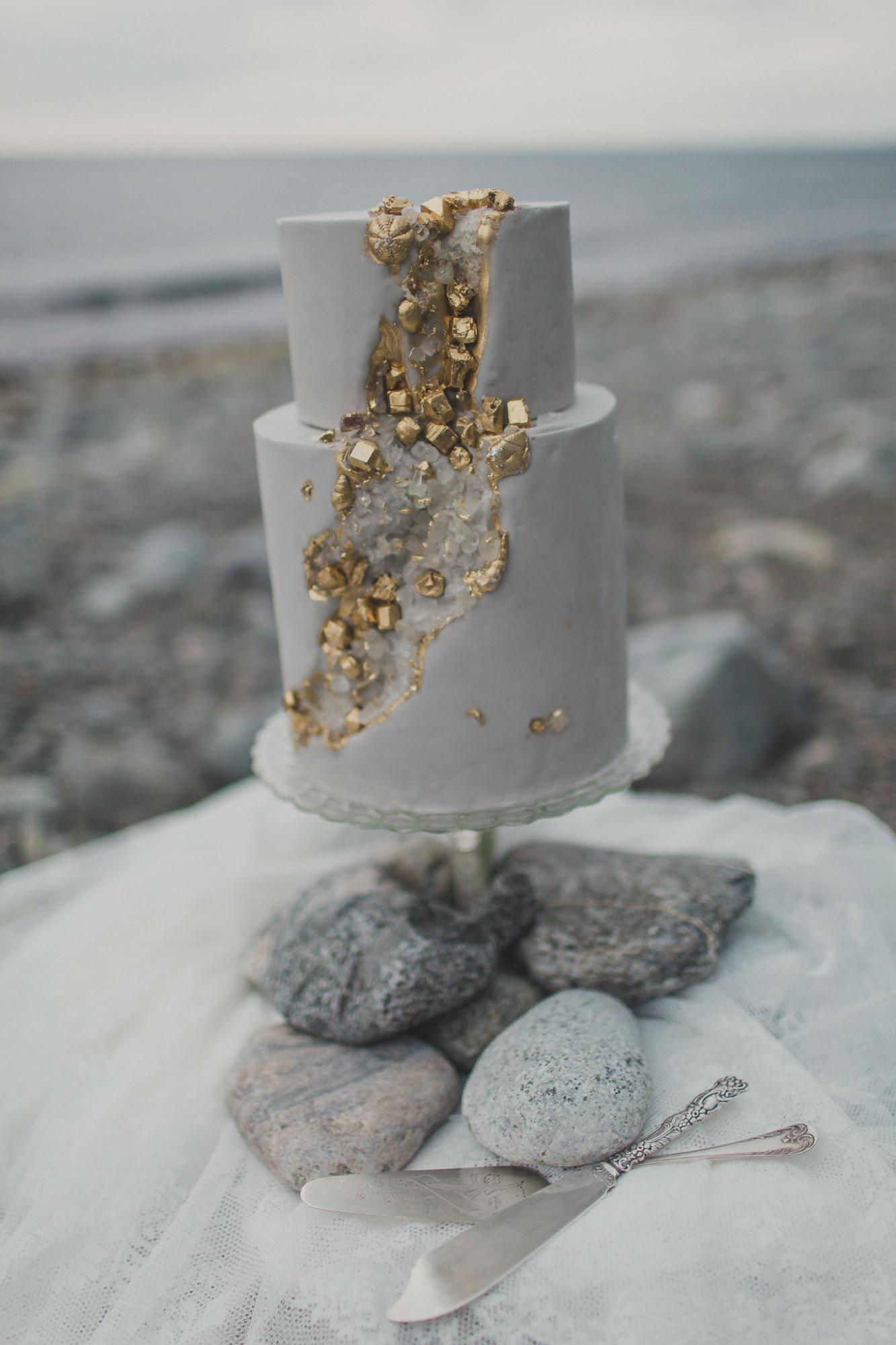 Bröllopstårta Foto: Matilda Söderström