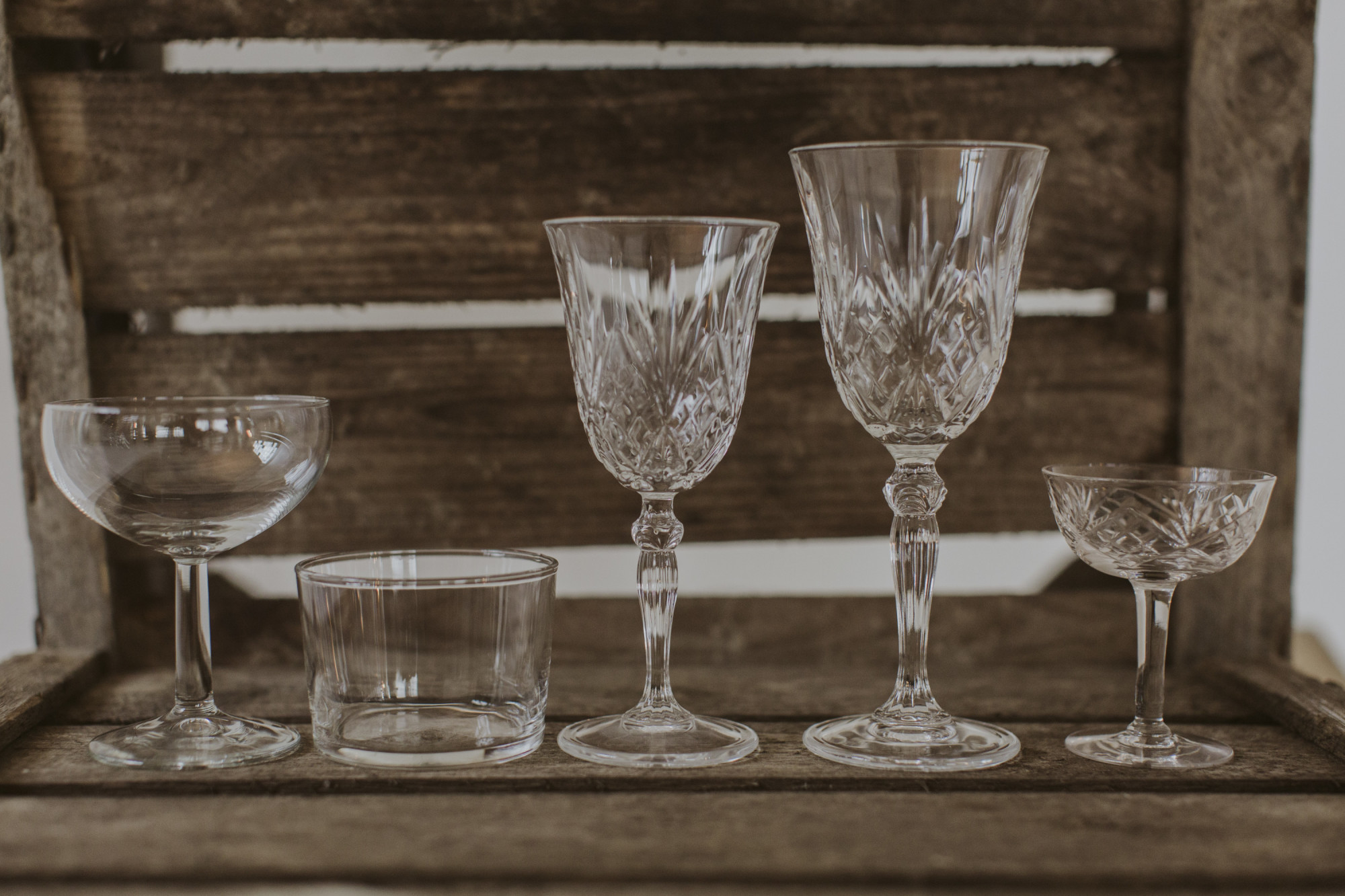 Glas och bestick