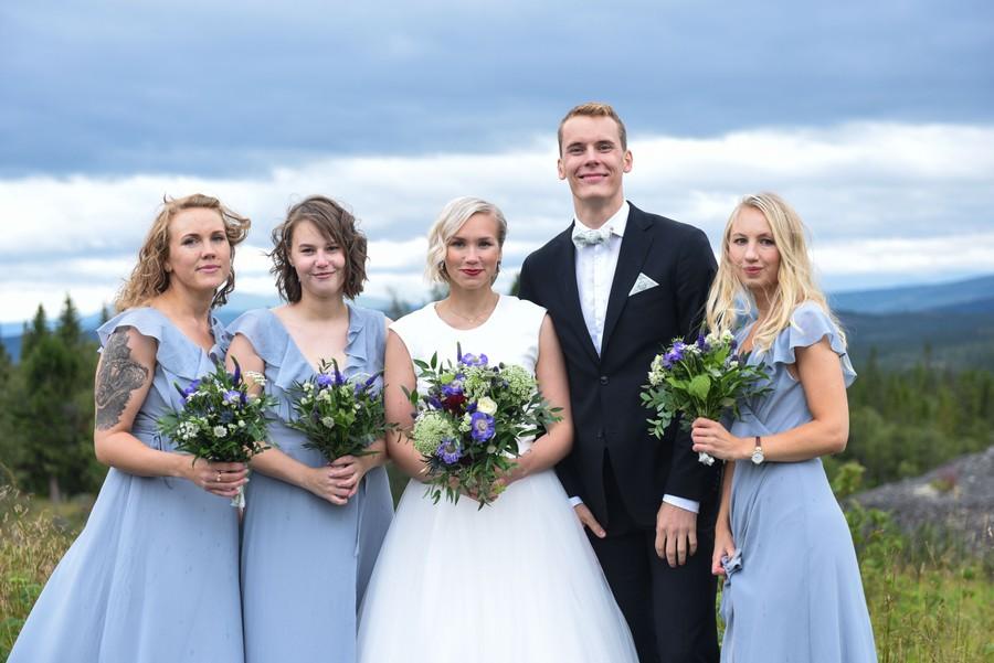 Bröllopsfotograf i Åre
