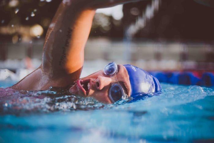 Öronproppar simning