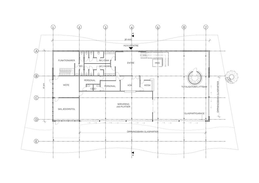 Läktare - Göteborgs Galopp - Plan 01