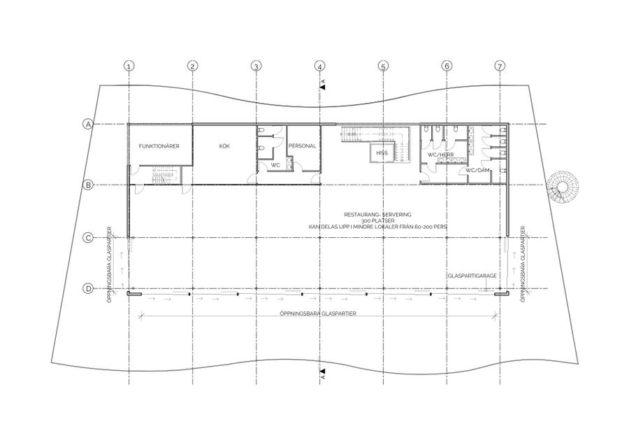 Läktare - Göteborgs Galopp - Plan 02