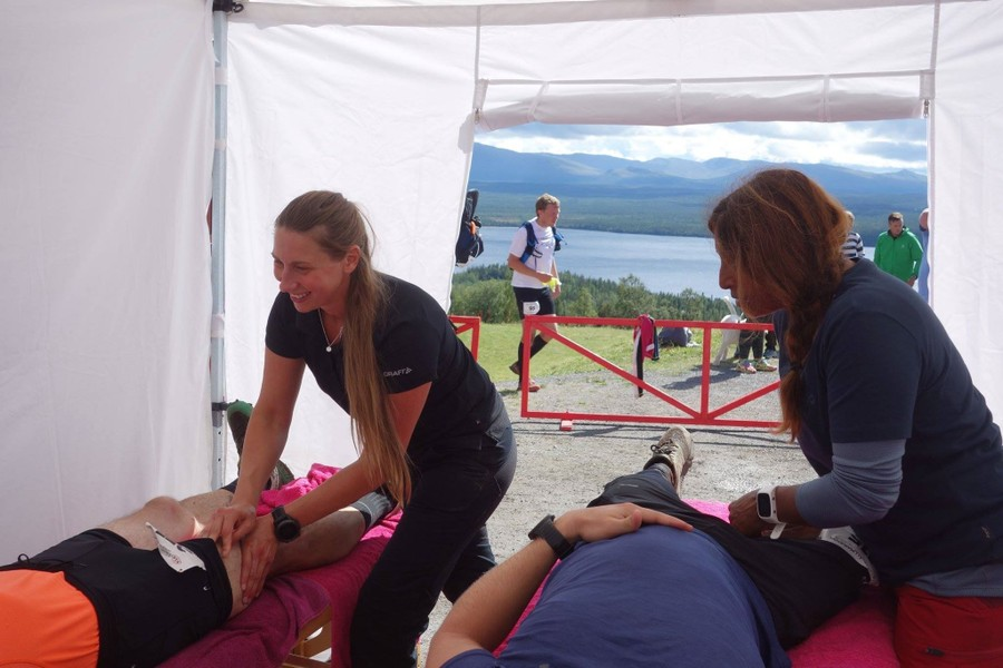 Massage på event