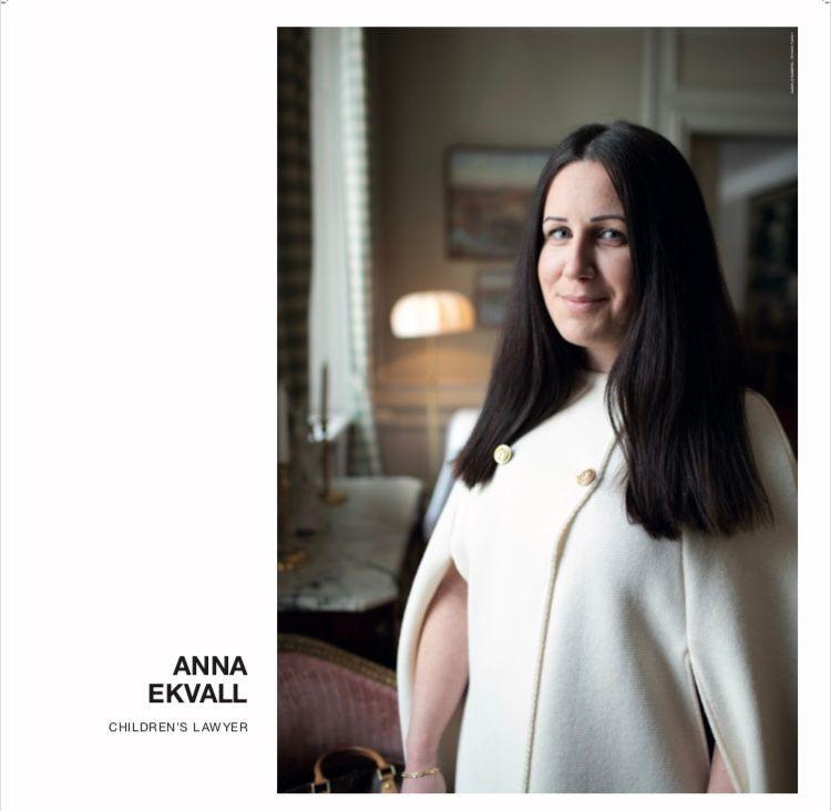 "Anna Ekvall i porträttgalleriet ""Welcome to my hometown"" på Arlanda"
