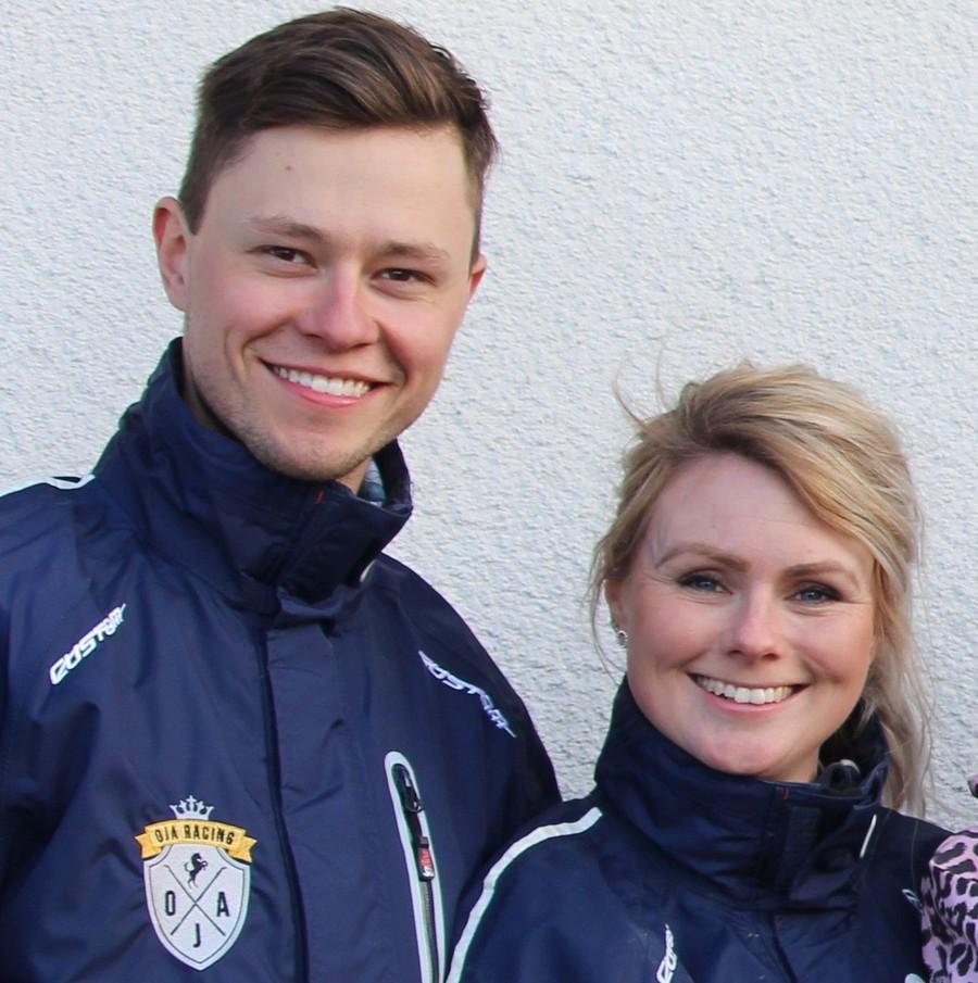 Oskar J Andersson är travtränare i Sala.
