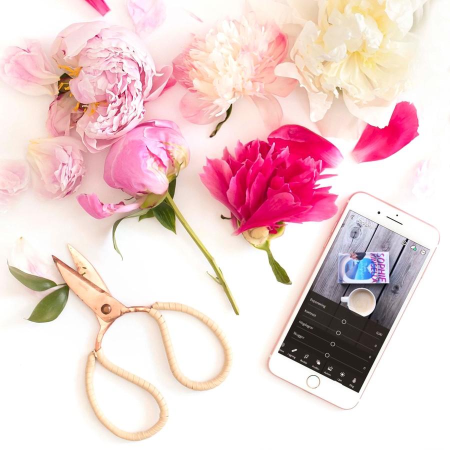 redigera mobilbilder i telefonen