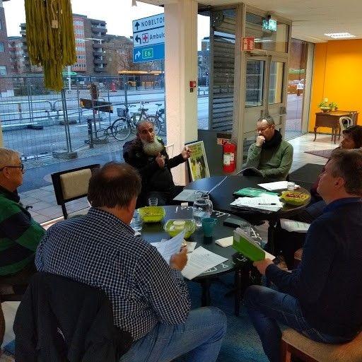 Samtal kring Malmöandans samhällsutmaning Stadsliv, allmänna platser och lokaler.