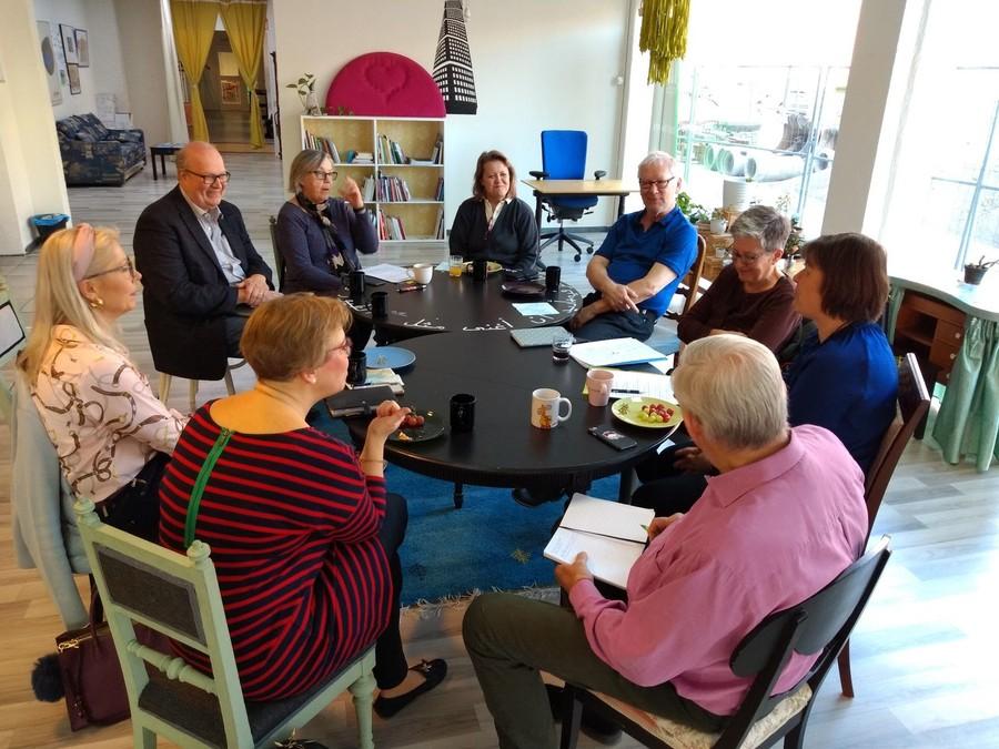 Företrädare för metaorganisationerna diskuterar Malmöandan
