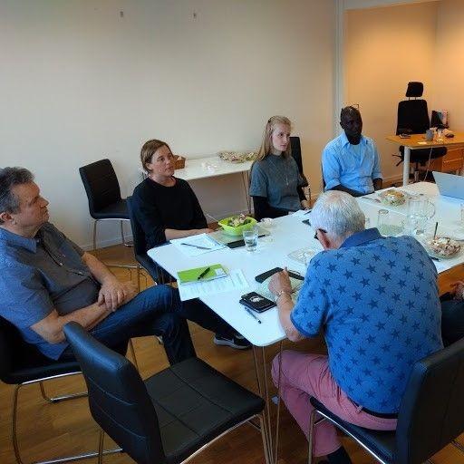 Företrädare från Malmö Ideella, MISO, ABF och Flamman Ungdomarnas hus pratar om Malmöandan