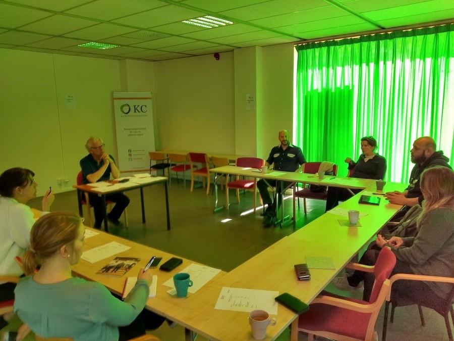 Företrädare för olika organisationer pratar om Malmöandans samhällsutmaning Nya vägar till arbete och aktivitet