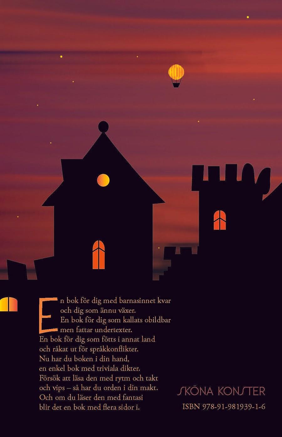 Baksidan på Om natten i ett vaket nunnekloster - ABC för vuxna barn