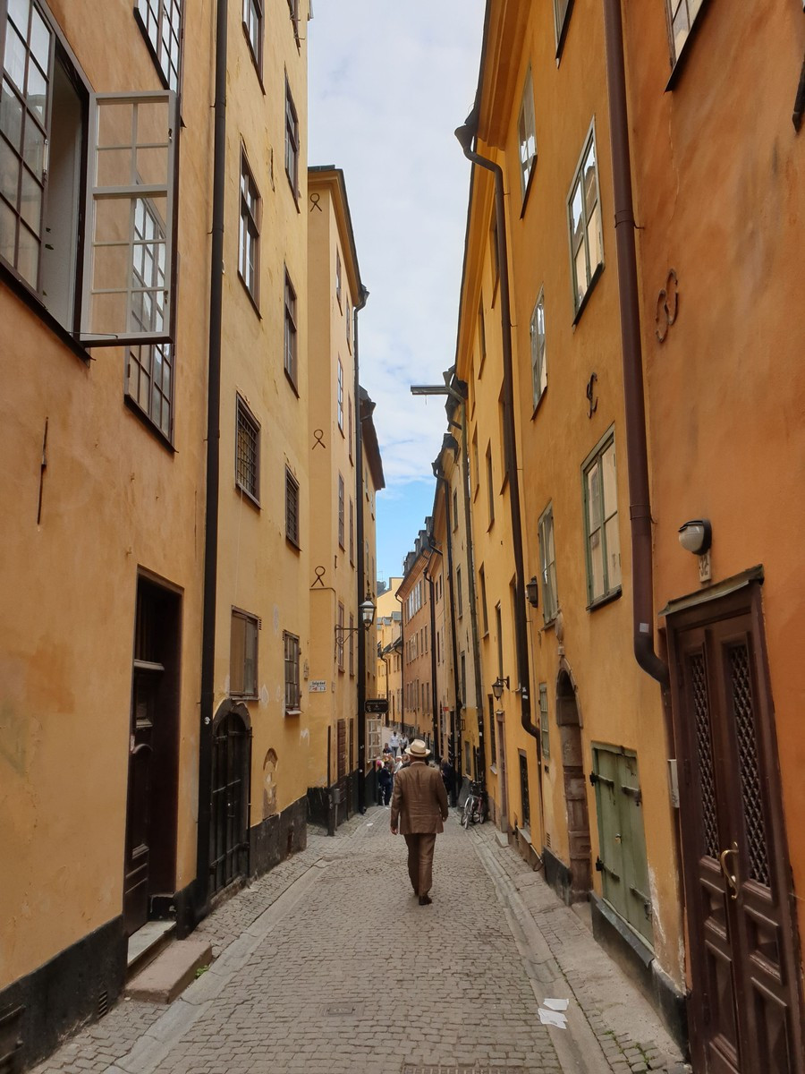 Den omsjungna Prästgatan i Gamla stan. Foto: Johanna Broman Åkesson