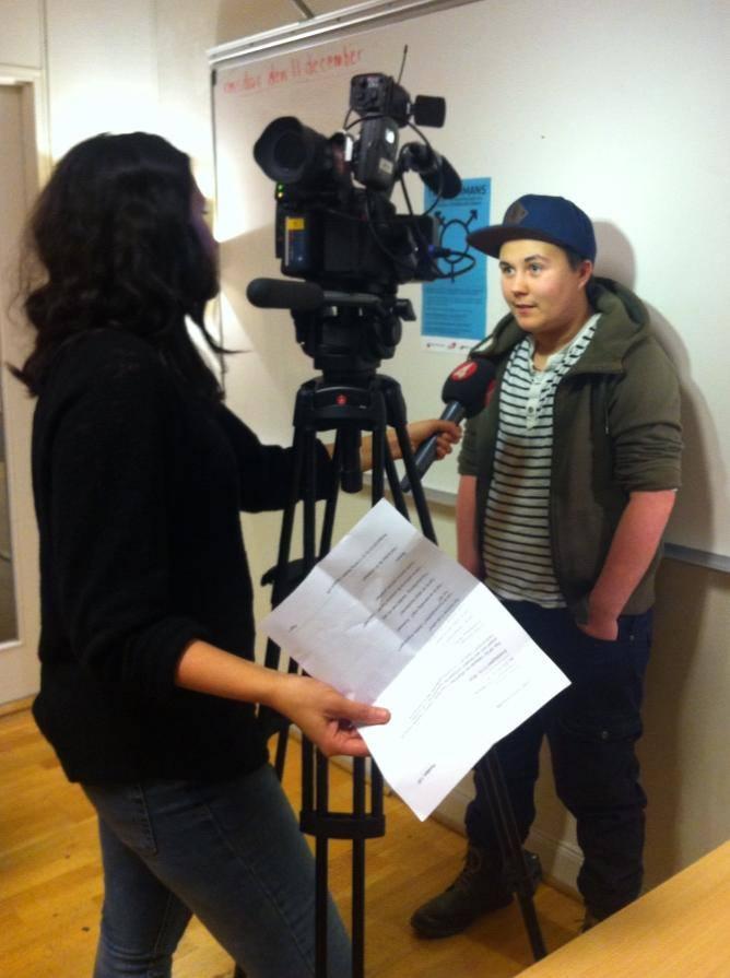 TV4, sändes 20 december 2013. Om projektet Transammans.