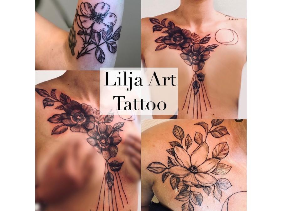 Lilja Tatuering