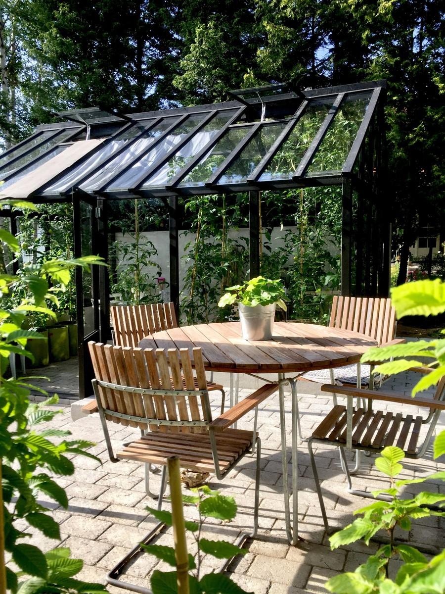 Omgjord trädgård av trädgårdsdesigner Mimmi Wägerth