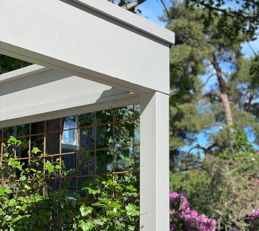 Wägerths Trädgårdsdesign trädgårdsarkitekt trädgårdsidé ny trädgård altan uteplats pergola spaljé