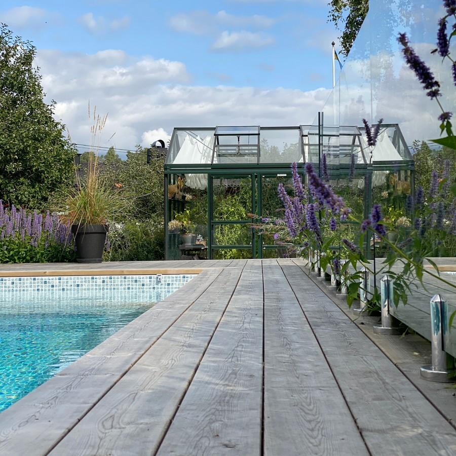 Trädgårdsritning av trädgårdsdesigner Mimmi Wägerth