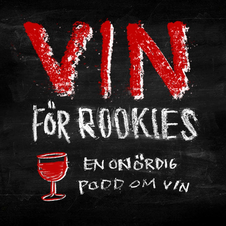 Podcasten Vin för rookies produceras av Poddagency