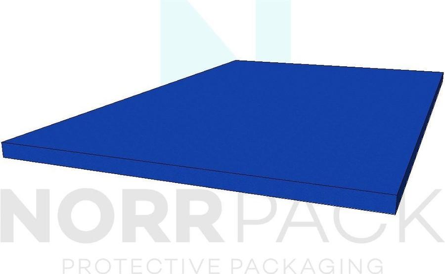 Plastozote blå 50mm