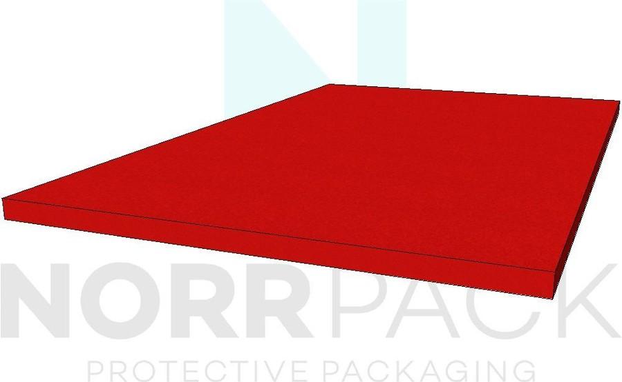 Plastozote röd 50mm