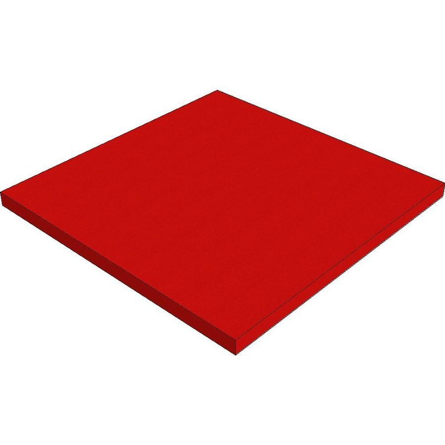 Plastozote röd 25mm