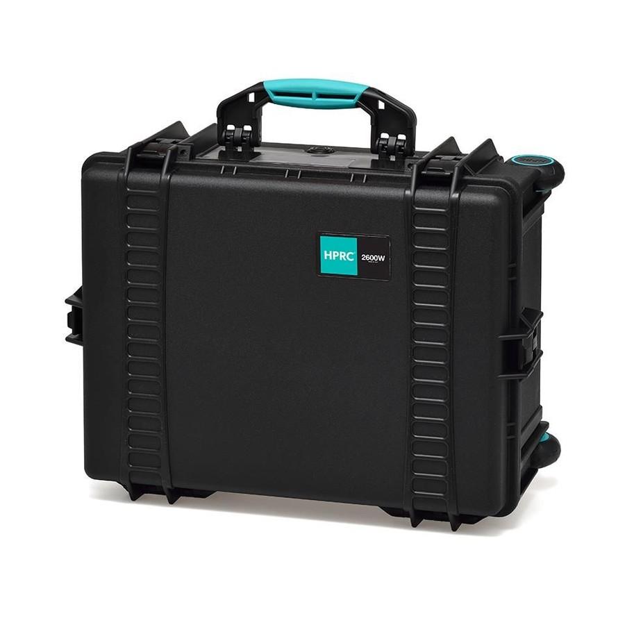 Hardcaseväskor från Italienska HPRC. Vi skräddarsyr insidan efter behov med cellplast.