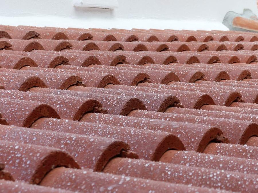 Tak coating för betong pannor