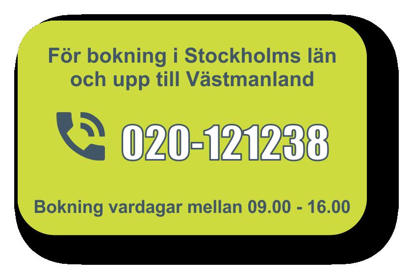 Fasadtvätt villa, Stockholm, Västerås, Dalarna