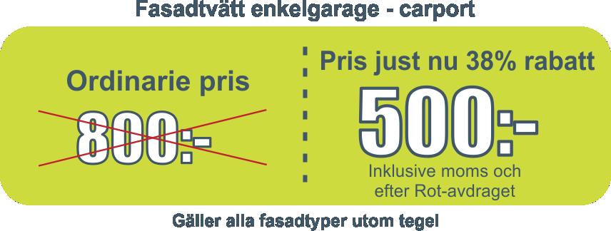 Pris tak, tvätt, Stockholm, Dalarana, Västerås