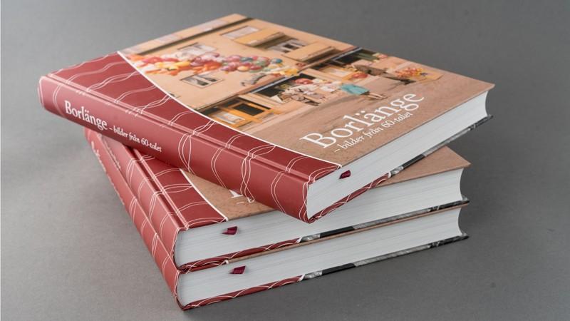 En hårdbunden bok om Borlänge