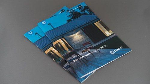 Klammerhäftade broschyrer