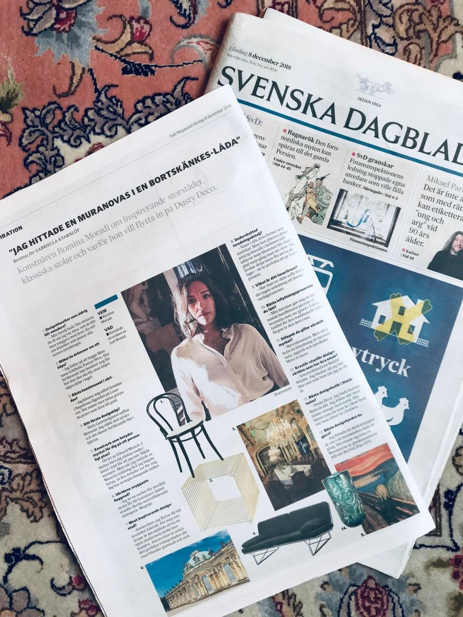 Svenska Dagbladet Svd Magasinet  När jag målade av Munchs målning fick jag högsta betyg. Romina Moradi
