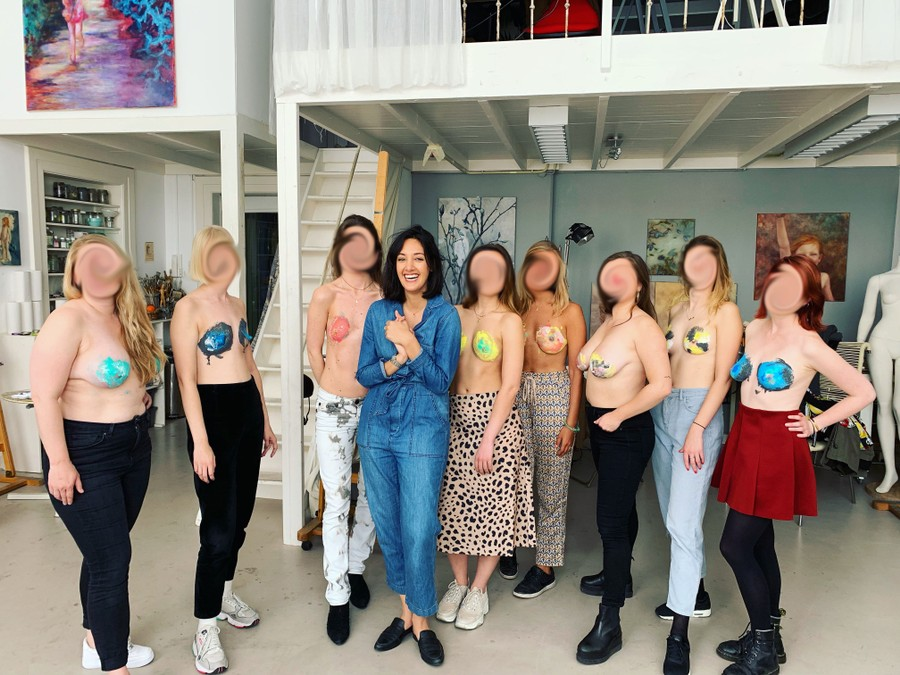 A Just Breast Workshop with Her Hon by Romina Moradi