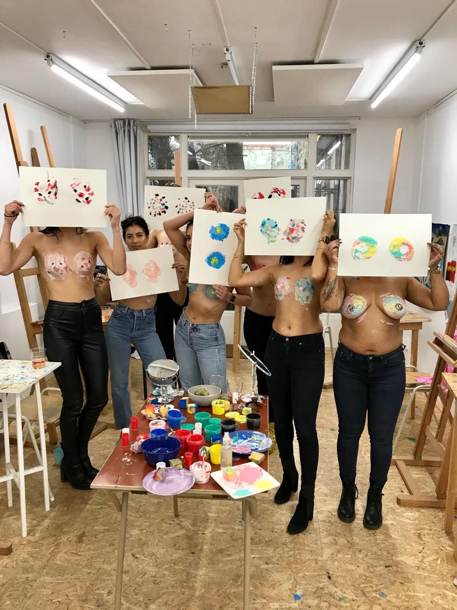 Just Breast Workshop Amsterdam Stockholm
