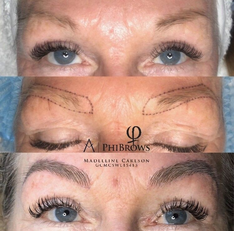 Microblading Phibrows artist